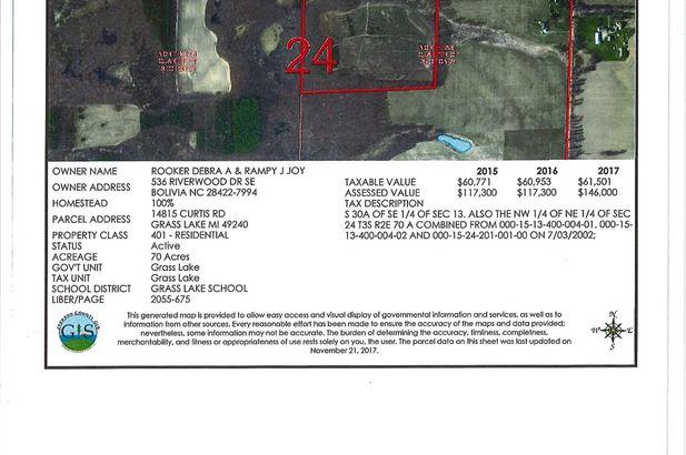 14815 Curtis Road Grass Lake MI 49240