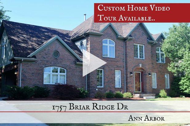 1757 Briar Ridge Drive Ann Arbor MI 48108