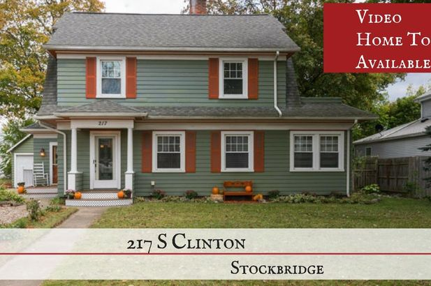 217 South Clinton Stockbridge MI 49285