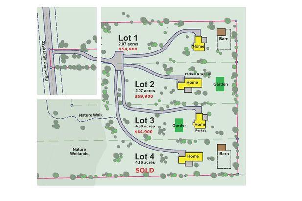 3290 N Lima Center Lot 1 Road Dexter MI 48130