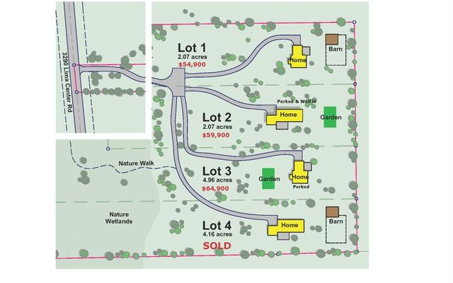 3290 N Lima Center Lot 1 Road Dexter, MI 48130