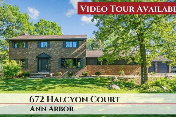 672 Halcyon Court Ann Arbor, MI 48103