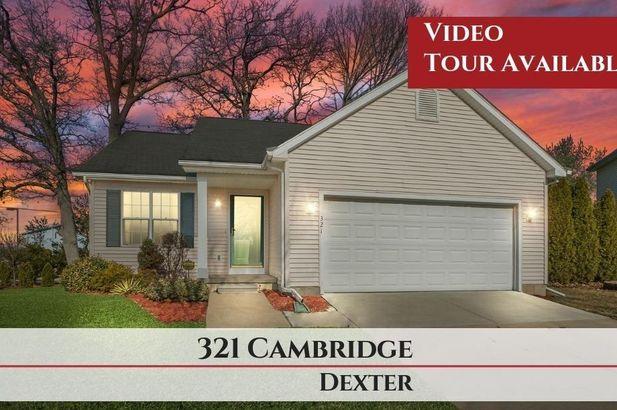 321 Cambridge Drive Dexter MI 48130
