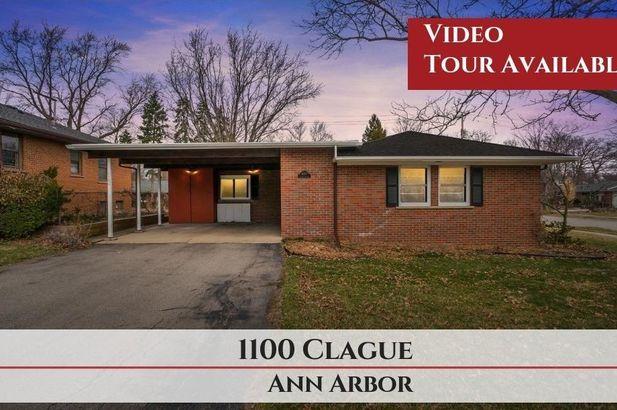 1100 Clague Street Ann Arbor MI 48103