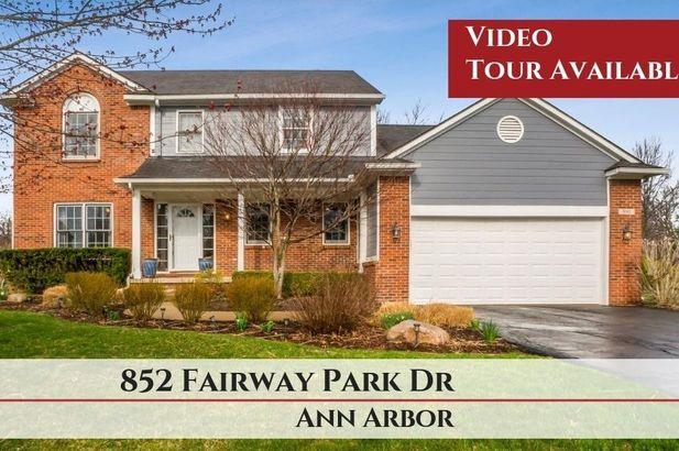 852 Fairway Park Drive Ann Arbor MI 48103