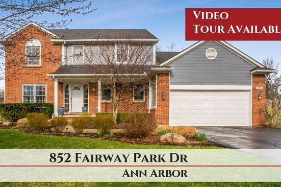 852 Fairway Park Drive Ann Arbor, MI 48103