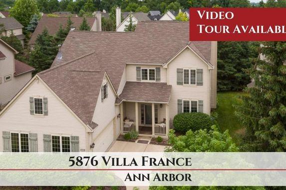 5876 Villa France Avenue Ann Arbor, MI 48103