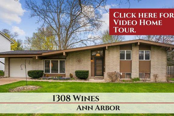 1308 Wines Drive Ann Arbor, MI 48103