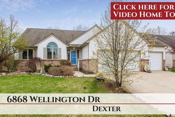 6868 Wellington Drive Dexter, MI 48130
