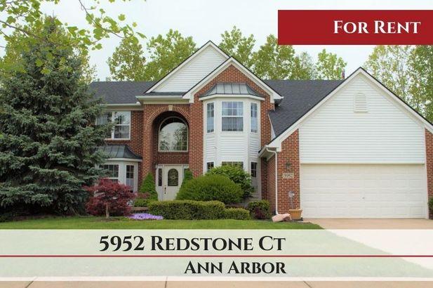5952 Redstone Court Ann Arbor MI 48103