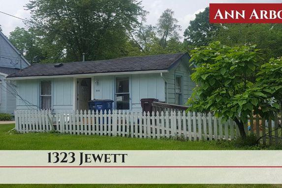 1323 Jewett Street Ann Arbor, MI 48104