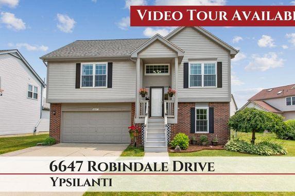 6647 Robindale Drive Ypsilanti, MI 48197