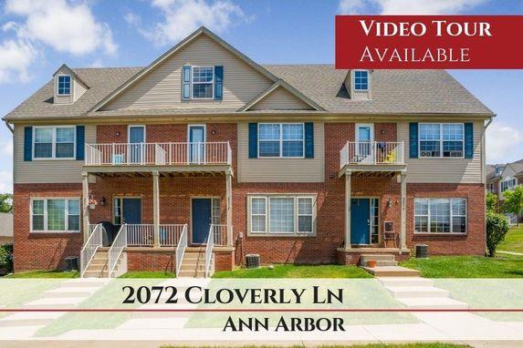 2072 Cloverly Lane Ann Arbor, MI 48108