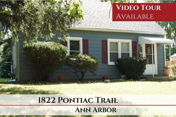 1822 Pontiac Trail Ann Arbor, MI 48105