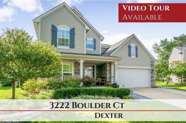 3222 Boulder Court Dexter MI 48130