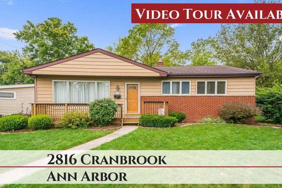 2816 Cranbrook Road Ann Arbor, MI 48104