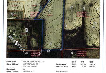0 Curtis Road Grass Lake, MI 49240 - Image