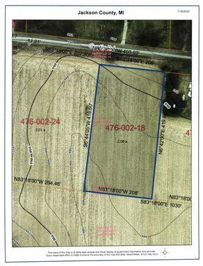 0 Curtis Parcel A1 Road Grass Lake, MI 49240