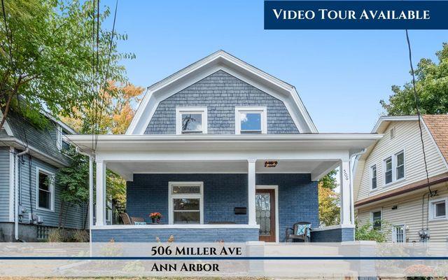 506 Miller Avenue Ann Arbor, MI 48103