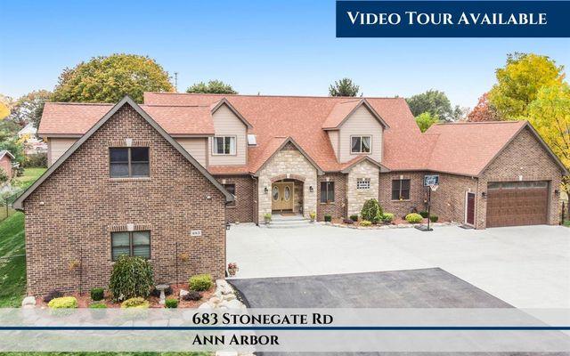 683 Stonegate Road Ann Arbor, MI 48103