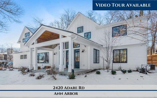 2420 Adare Road Ann Arbor, MI 48104