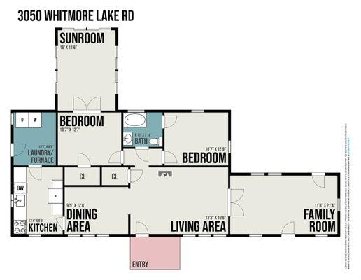 3050 Whitmore Lake Road - photo 32